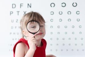 Revision optometrica en niños